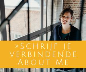 Schrijf je verbindende About Me (1)